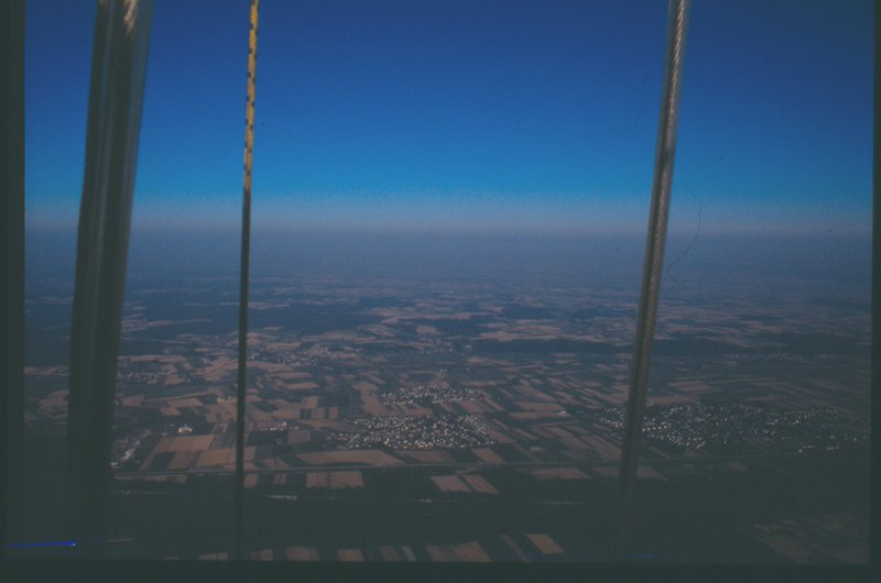 Low temperature inversion seen from balloon