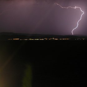 Lightning in Chalkidiki