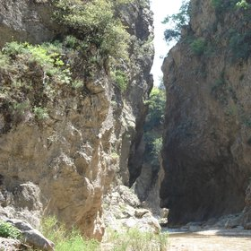 Slot-gorge of Xerias River