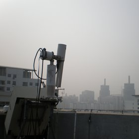 Measuring atmospheric pollution in Beijing, China (I)