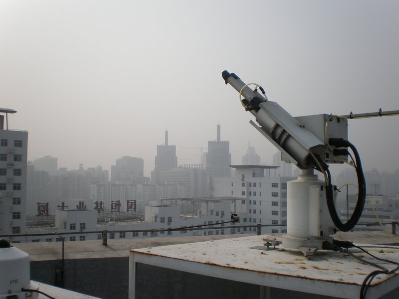 Measuring atmospheric pollution in Beijing, China (II)