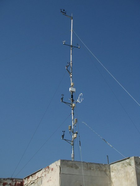 Flux tower