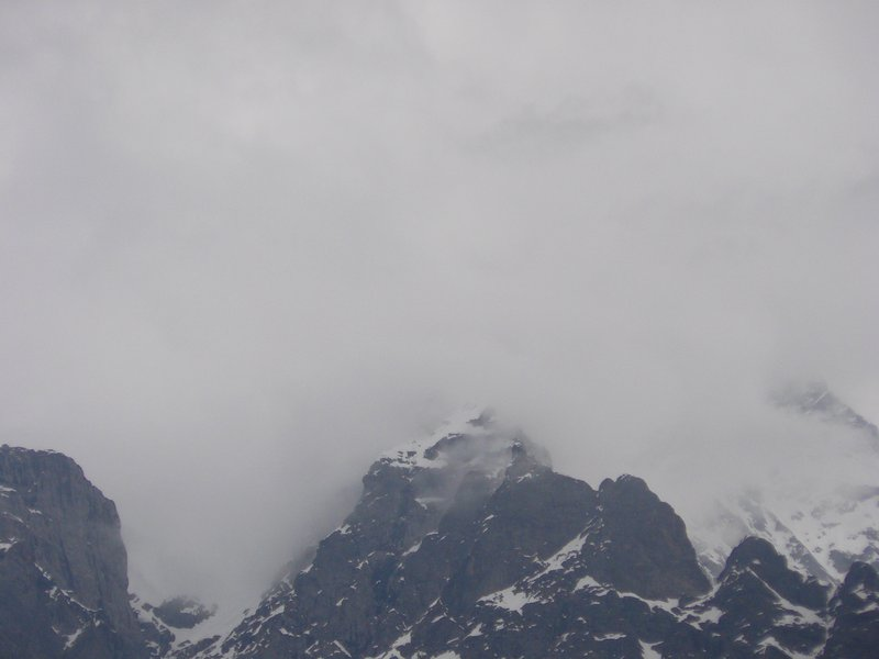 Low clouds in Grindelwald