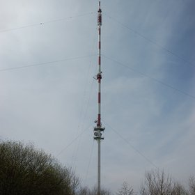 Trainou monitoring station, tall tower