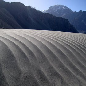 Sandripples in the Indian Himalayas