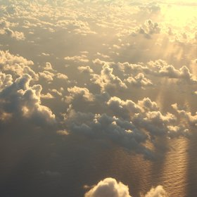 Shallow Cumulus at Sunrise