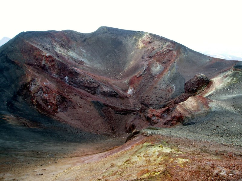 """Volcanic palette"" of mt. Etna flank eruptive center"