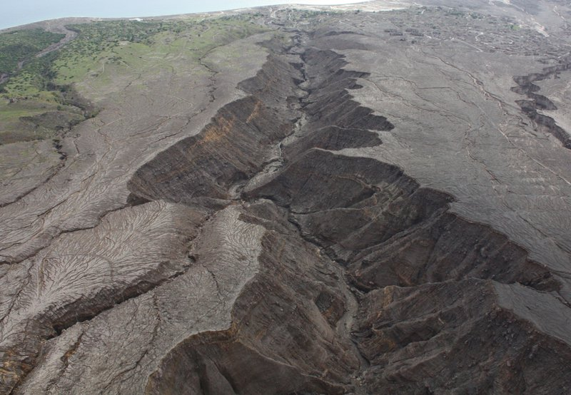 Soufriere Hills volcano pyroclastic deposits