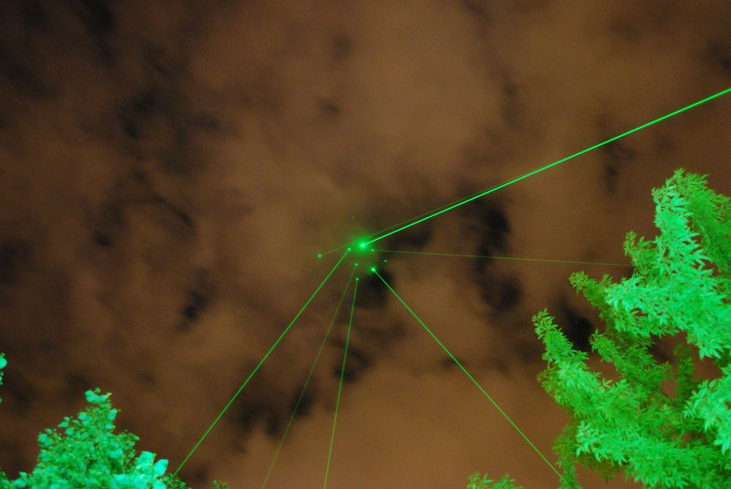 Lasers in the sky
