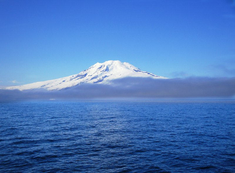 Jan Mayen out of the fog