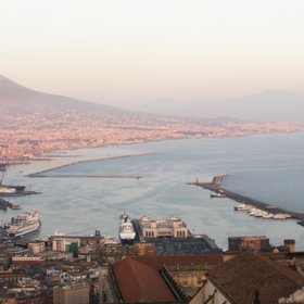 Napoli and Vesuvio