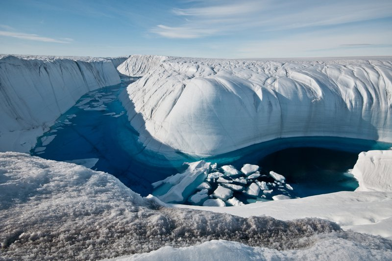 Water Filled Canyon, Greenland