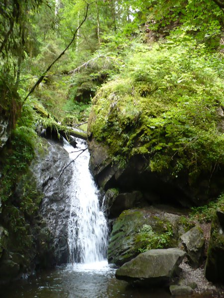 Waterfall in the Wutachtschlucht