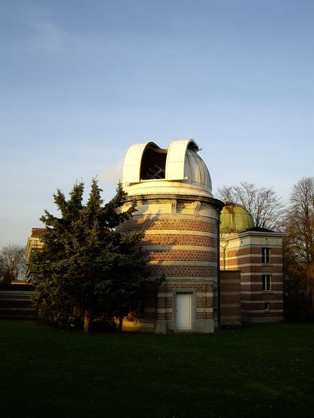 At the Uccle observatory