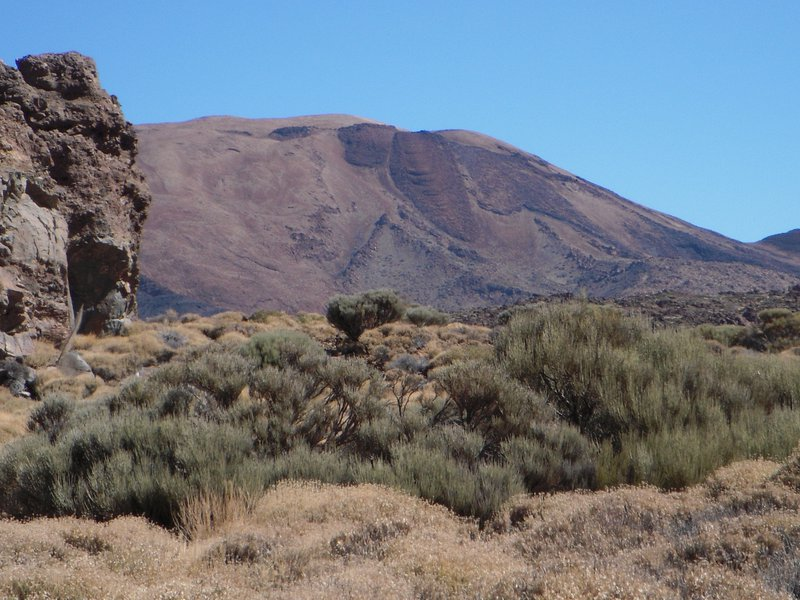 Solidified Lava Flow, Mt. Teide