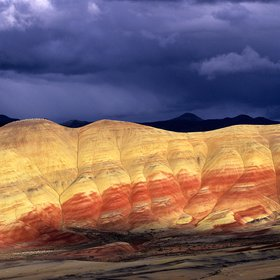 Painted Hills after a storm