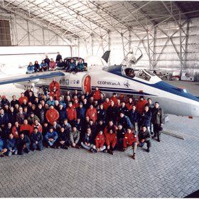 Airborne Polar Experiment - Geophysica Aircraft In Antractica