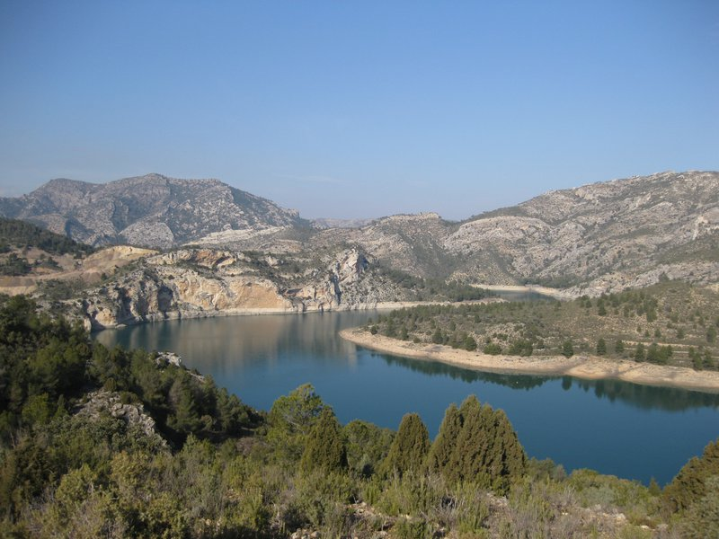 Calanda water reservoir