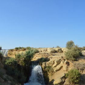 Wadi Al Rayan waterfalls
