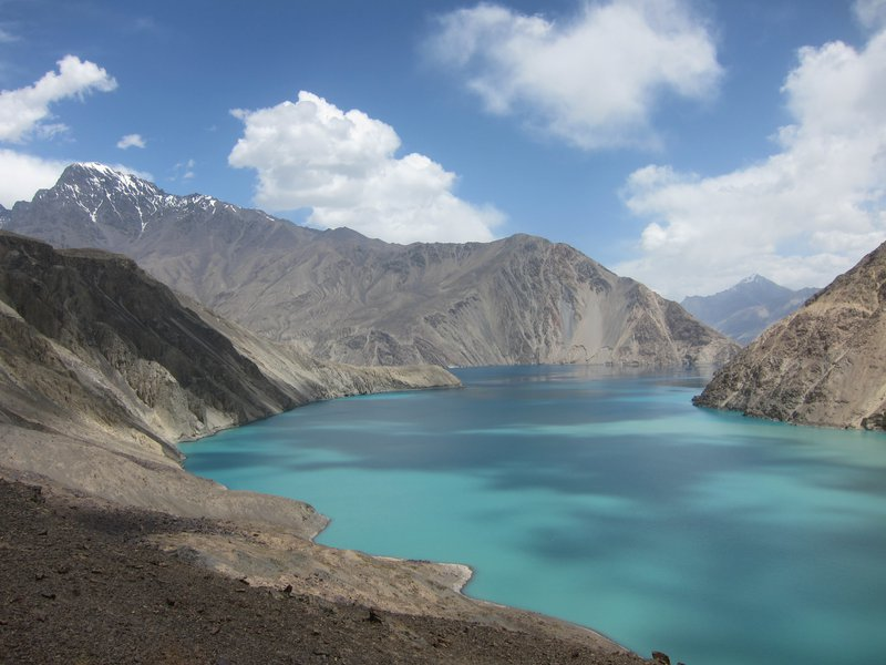Sarez lake, born by the earthquake