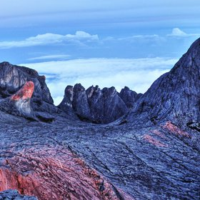 Summit area of Mount Kinabalu