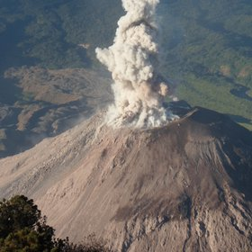 Vulcanian Eruption of Santiaguito, Guatemala (2)