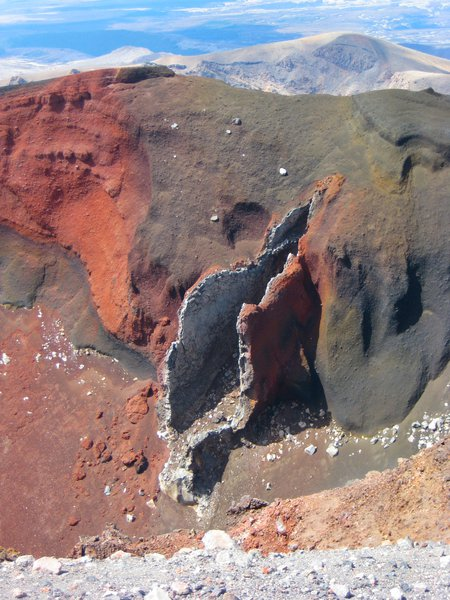 Rip in the Earth, Tongariro National Park, NZ