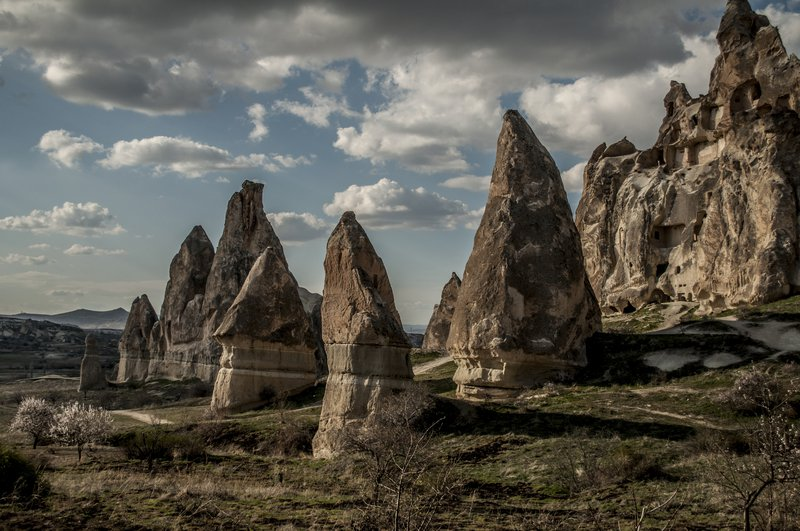 Fairy Chimneys in The Love Valley