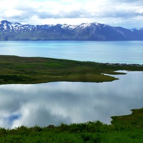 Botsvatn Lake and Beyond, Tjornes Fracture Zone, North Iceland