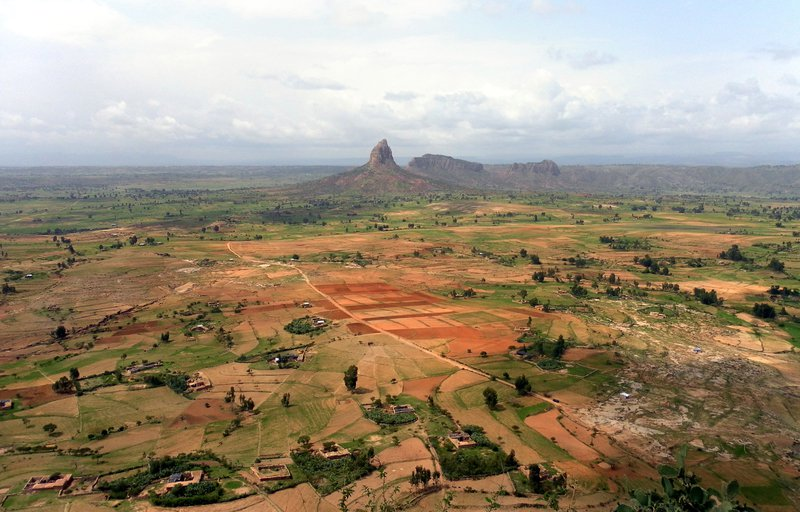 Agrosystem in Tigray, Highlands