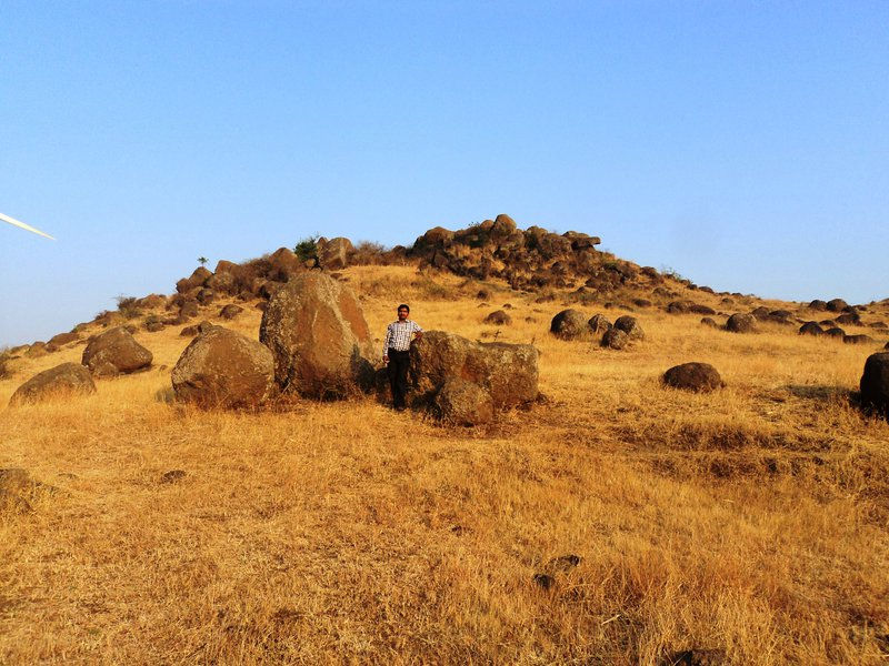 Loose Boulder Inselberg in the Semi arid track of Peninsular India