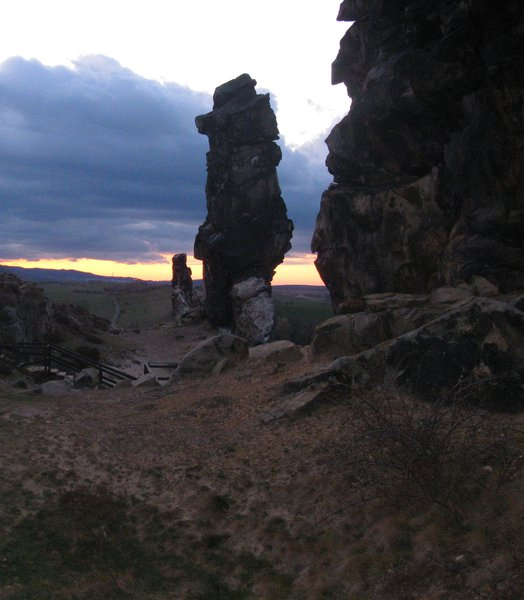 Devil's Wall in the Evening