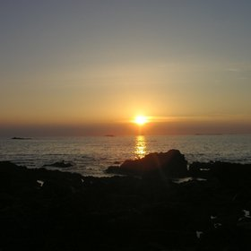Sunset on Ardnamurchan Point