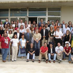 Participants in the II Iberian Congress on Soil Science, Sevilla and Huelva, Spain, 2006