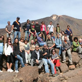 Participants in the FUEGORED2012 meeting, Tenerife, Spain