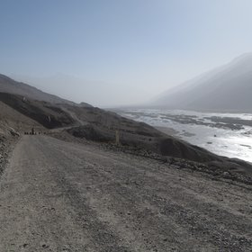 Dust storm in Wakhan