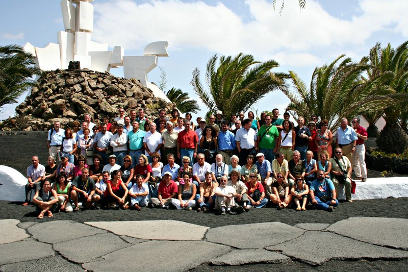 Participants in the III Spanish Symposium of Soil Degradation Control (IIICDSD), Fuerteventura, Spain, 2007
