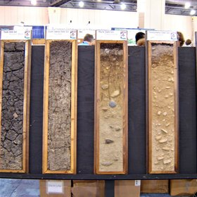 Soil monolyths in the 18th World Congress of Soil Science, Philadelphia, USA, 2006
