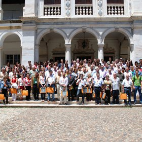 Participants in the III Iberian Congress on Soil Science, Évora, Portugal, 2008