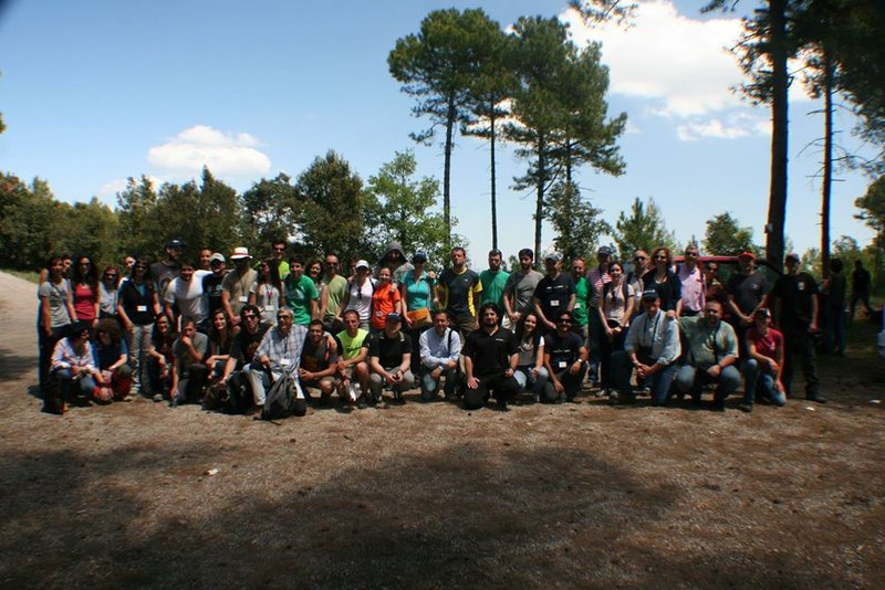 Participants in the FUEGORED2014 meeting, Barcelona, Spain