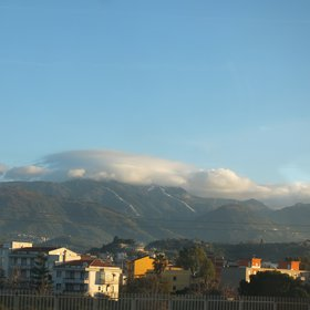 Orographic clouds