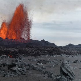 Holuhraun fissure eruption, September 2014