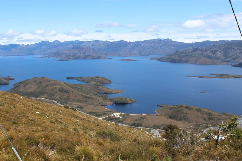 Lake Pedder southwest of Tasmania