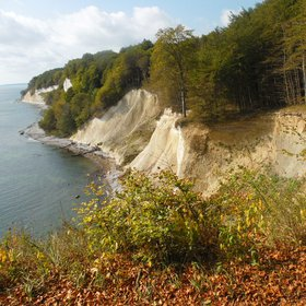 The crayon coast of the Rügen