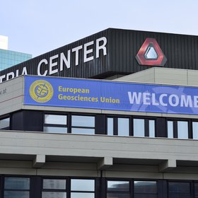 The Austria Center Vienna during the EGU 2015 General Assembly