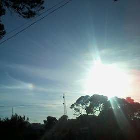 Sundog over Algiers