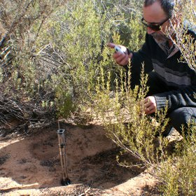 Measuring infiltration rates