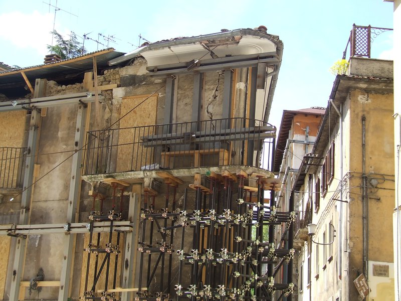 L'Aquila one year after the earthquake