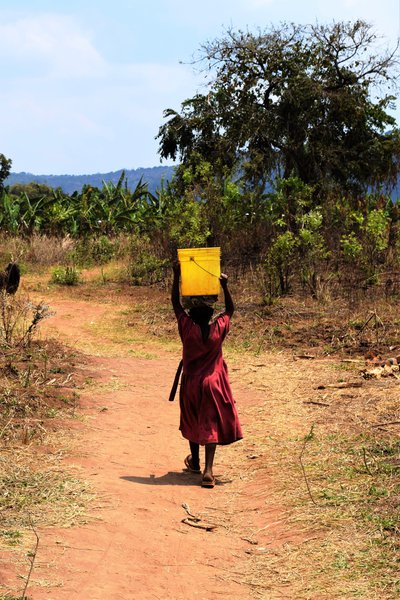 Daily Journey for Water. Daily Absence from School. (Tanzania)