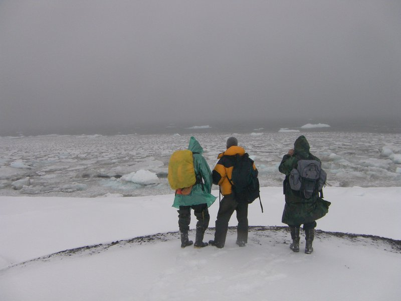 Field work in the High Arctic